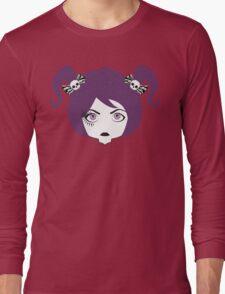 eyelashed lady Long Sleeve T-Shirt