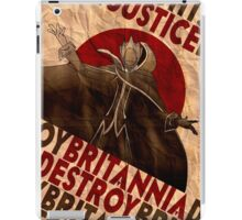 Justice will be done -  Code Geass iPad Case/Skin