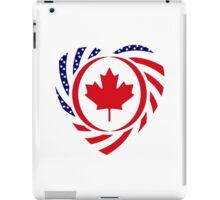 Canadian American Multinational Patriot Flag Series 2.0 iPad Case/Skin