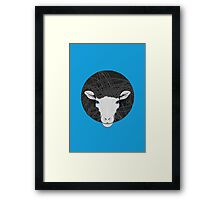 Funky Sheep Framed Print