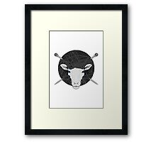 Woolly Head Framed Print