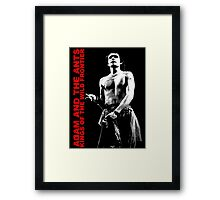 ADAM AND THE ANTS Kings Of The Wild Frontier T-Shirt Framed Print