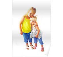 Portraits: Taylah and Hannah Poster