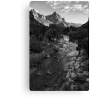 Watchman, Zion National Park Canvas Print