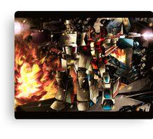 Megatron ft starscream Canvas Print