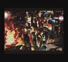 Megatron ft starscream by iennisita