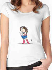 Sailor Grump. Women's Fitted Scoop T-Shirt