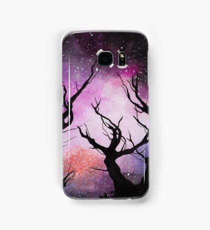 space (trees) Samsung Galaxy Case/Skin