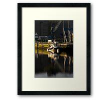 Cork Tug Framed Print