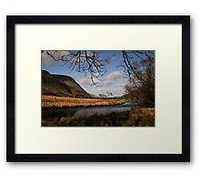 Lake in Glenveagh National Park #1 Framed Print