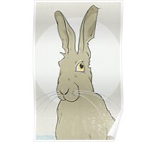 Golden Hare No.3 Poster