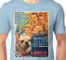 French Bulldog Art - Key Largo Movie Poster Unisex T-Shirt