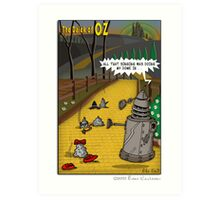 The Dalek Of OZ Art Print