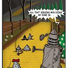 The Dalek Of OZ by ToneCartoons