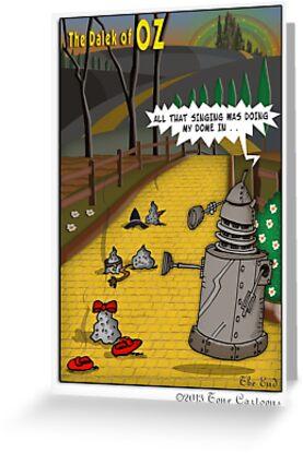 The Dalek Of OZ by ToneCartoons