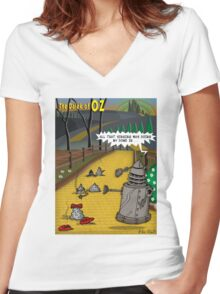 The Dalek Of OZ Women's Fitted V-Neck T-Shirt