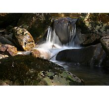 Waterfall Glenveagh National Park Photographic Print