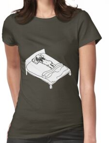 Reckless Abandon Womens Fitted T-Shirt