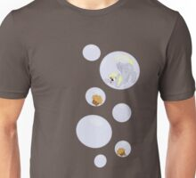 Derpy Bubbles Grey Unisex T-Shirt