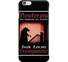 Remembrance of the Vampires iPhone Case/Skin