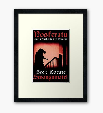 Remembrance of the Vampires Framed Print