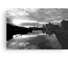 Cork port early morning Metal Print