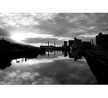 Cork port early morning Photographic Print