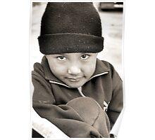 Shy Boy from Potosi, Bolivia Poster
