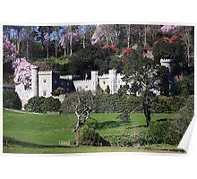 Caerhays castle, cornwall, England  Poster