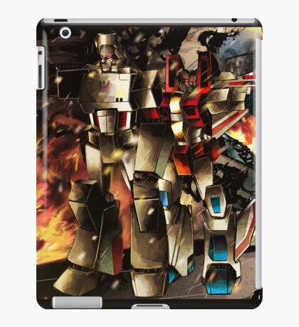 Megatron ft starscream iPad Case/Skin