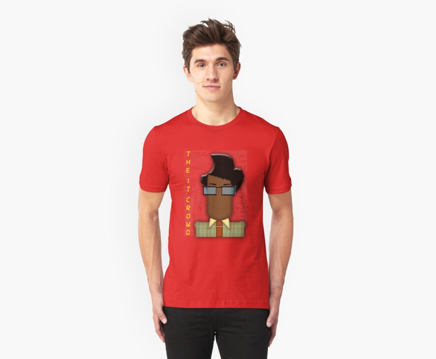 it crowd tee by ToneCartoons