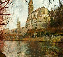 Basilica of Lourdes by Sue Wickham