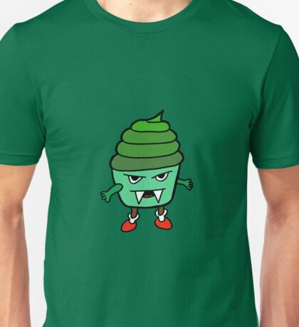GREEN MUFFIN MONSTER Unisex T-Shirt