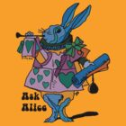 Ask Alice - The White Rabbit by ptelling
