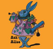 Ask Alice - The White Rabbit T-Shirt