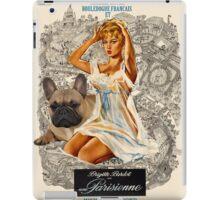 French Bulldog Art - Una Parigina Movie Poster iPad Case/Skin