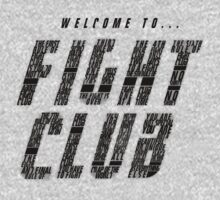 Fight Club Rules by jackallum