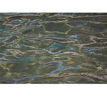 Blue Sea Lake Photographic Print