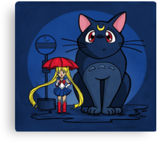 My Neighbor Luna Canvas Print