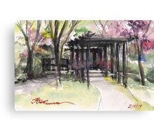 Maxell's Cherry Gardens. Telford, Shropshire, England Canvas Print
