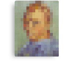pixel van gogh Canvas Print