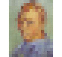 pixel van gogh Photographic Print