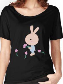 Kids cartoon bunny Women's Relaxed Fit T-Shirt