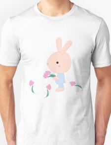 Kids cartoon bunny Unisex T-Shirt