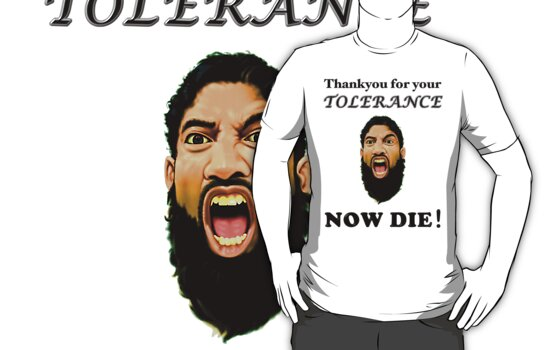 Thankyou for your tolerance by Darren Stein