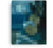 pixel picasso Canvas Print