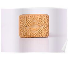 Custard Cream reflection Poster