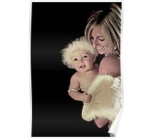 Portraits: Marley and Mum are angels Poster