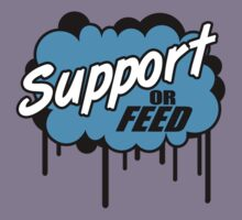 League of Legends: Support or Feed Kids Tee