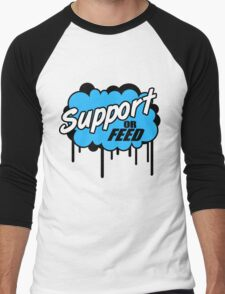 League of Legends: Support or Feed Men's Baseball ¾ T-Shirt